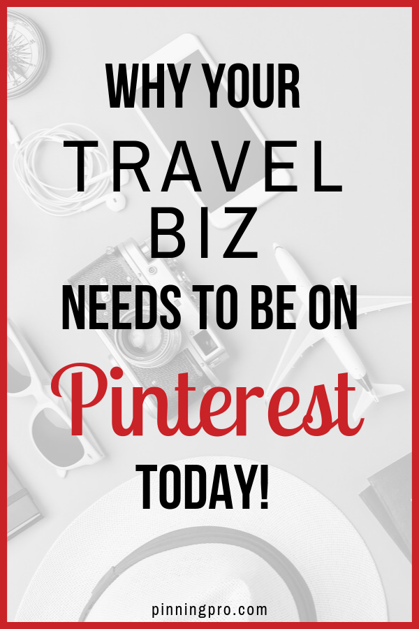 pinterest for travel bloggers and business