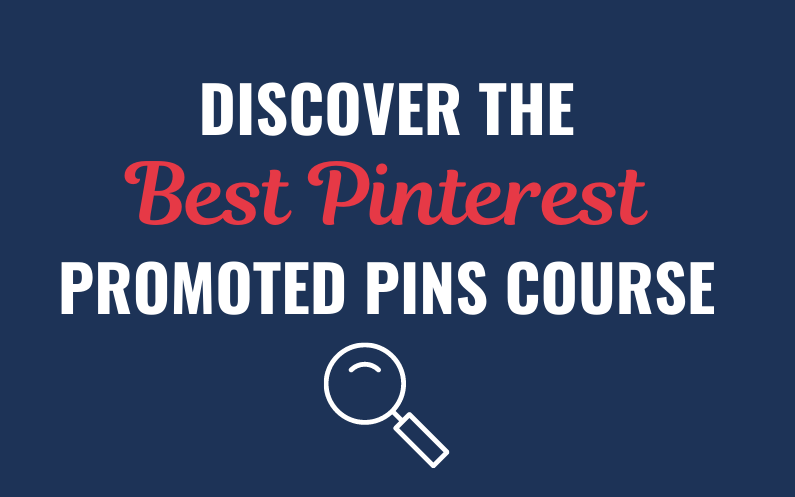 Promoted Pins Course